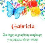 ¡Feliz Cumpleaños, Gabriela! | Imágenes para descargar y enviar gratis