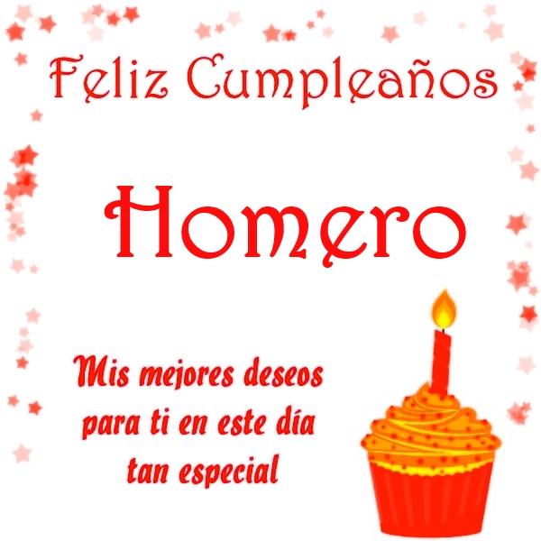 Feliz Cumpleaños Homero 10