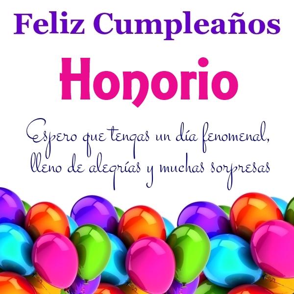 Feliz Cumpleaños Honorio (1)