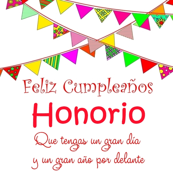 Feliz Cumpleaños Honorio (2)