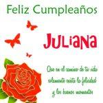 Imágenes de cumpleaños con nombre Juliana