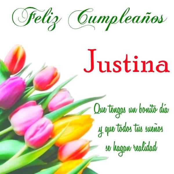 Feliz Cumpleaños Justina (2)