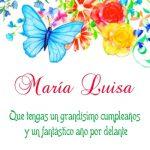¡Feliz Cumpleaños, María Luisa! | Tarjetas de cumpleaños online