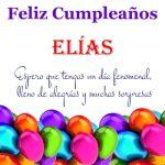 ¡Feliz Cumpleaños, Elías! | Imágenes para descargar y enviar gratis