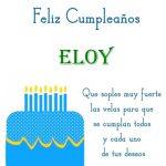 ¡Feliz Cumpleaños, Eloy! | Imágenes para descargar y enviar gratis