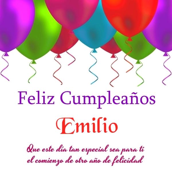 """Resultado de imagen de Feliz cumpleaños Emilio"""""""