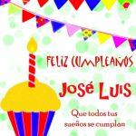 Imágenes de cumpleaños con nombre José Luis