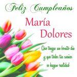 Imágenes de cumpleaños con nombre María Dolores