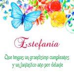 ¡Feliz Cumpleaños, Estefanía! | Imágenes para descargar y enviar gratis