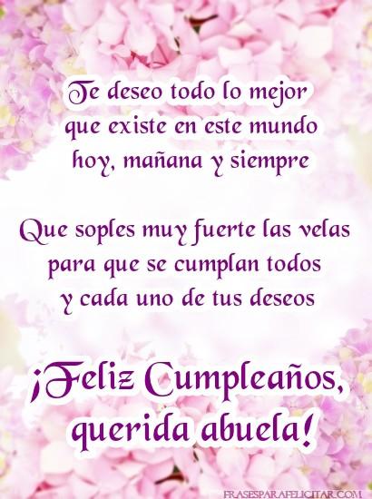 Imágenes de Cumpleaños para una Abuela (1)