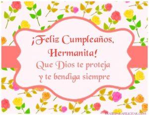 Imágenes de Feliz Cumpleaños Hermana para Descargar (1)