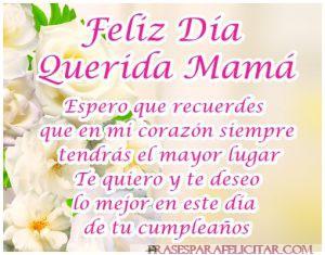 Imágenes de feliz cumpleaños mamá con frases bonitas (1)