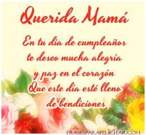 Imágenes de feliz cumpleaños mamá con frases bonitas (2)