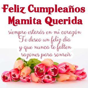 Imágenes de feliz cumpleaños mamá con frases bonitas (3)