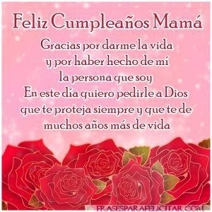 Las Mejores Imágenes de feliz cumpleaños mamá con frases (5)