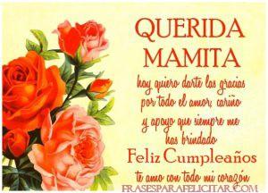 Las Mejores Imágenes de feliz cumpleaños mamá con frases (8)